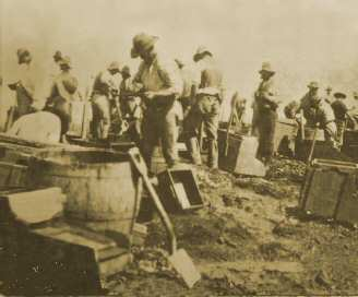 Teetulpa miner during the gold rush in South Australia.